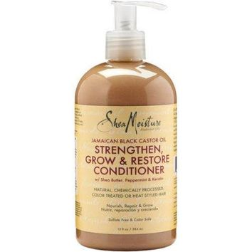 Shea Moisture Jamaican Black Castor Oil Strengthen, Grow & Restore Conditioner, 13.0 fl oz