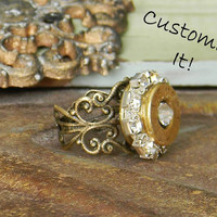 Bullet Ring, Bullet Jewelry, Ammo Ring, Shell case ring, Outlaw Glam