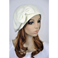 Womens Bow Hat