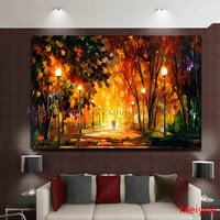 2014 Hand Painted Painting Oil Canvas lovely couple oil painting for Living room Wall Art Home Decor Modern Abstract Picture Set