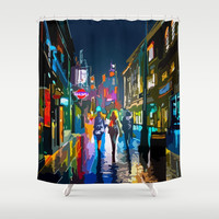 Cityscape Shower Curtain by Knm Designs