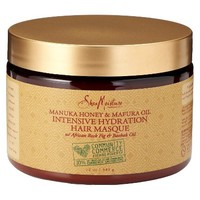 SheaMoisture Manuka Honey and Mafura Oil Intensive Hydration Hair Masque - 12 oz