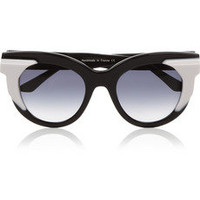Thierry Lasry | Two-tone acetate cat-eye sunglasses | NET-A-PORTER.COM