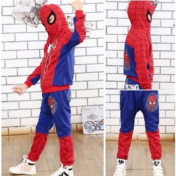 New Spiderman Baby Boys Costumes KIds Clothes Set
