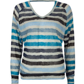 FULL TILT Sheer Stripe Womens Tee 183991512 | l/s tees & thermals | Tillys.com