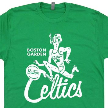 Vintage Boston Celtics T Shirt Retro Boston Celtics Shirt