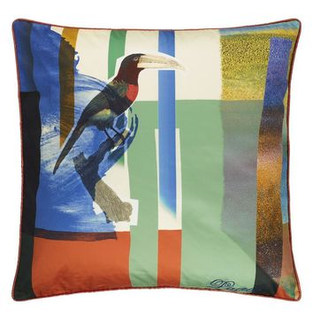 Christian Lacroix Toucan Mix Multicolore Decorative Pillow