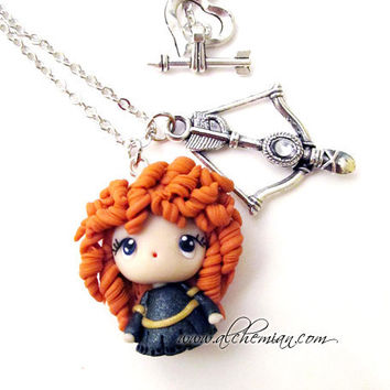 The Brave Merida inspired