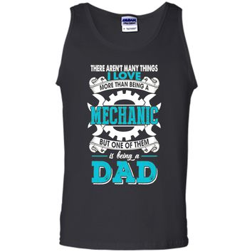 Great T-Shirt For Father's Day. Funny Gift For Mechanic Dad