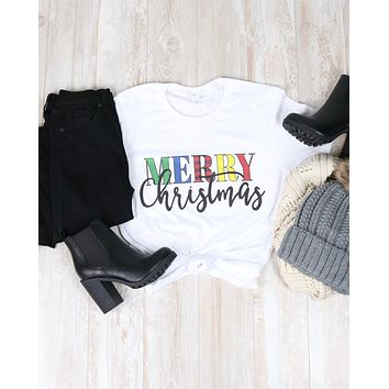 Distracted T Shirt - Merry Christmas Shirt
