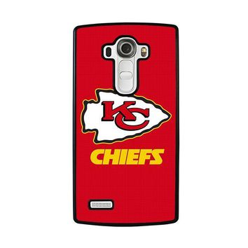 kansas city chiefs lg g4 case cover  number 1