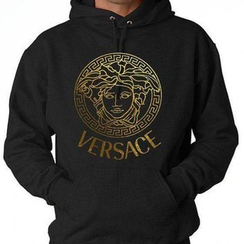DCCKB62 Versace Men's Sportswear Fashion Casual Long Sleeve Pullover Hoodie G