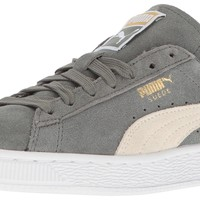 PUMA Women's Suede Classic Wn's Fashion Sneaker Agave Green-whisper White 9 B(M) US '