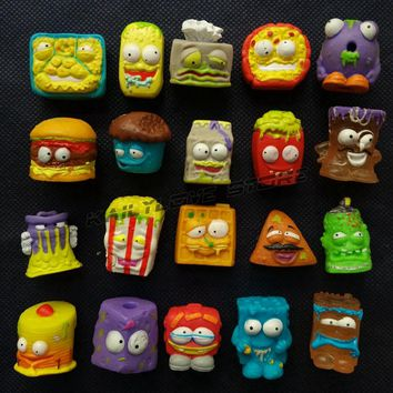 Hotsale Random 50 pcs/set The Grossery Dolls Gang Mini Action Toys Figures Popular Kid's Playing Model Dolls Christmas Gift Toy