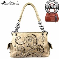 Montana West MW250G-8085 Concealed Carry Handbag