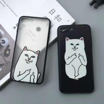 Creative Ripndip Pocket Cat Iphone 7 7plus & 6 6s Plus 5 5s Cover Case