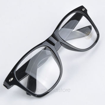 Fashion Summer Style Candy Color Glasses Unisex Clear Lens Nerd Geek Glasses Men Women Eyewear
