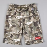 Champions & Supreme Shorts Camouflage Men Casual Shorts