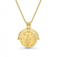 Missoma - Gold Roman Arc Coin Necklace | Missoma