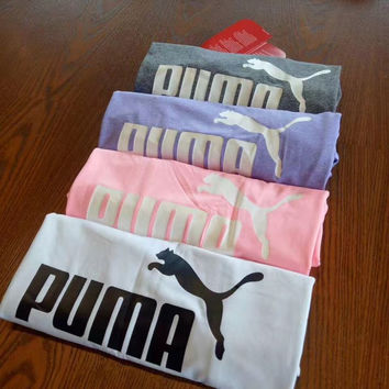 Puma: you love a Puma T-shirt with 4 colors