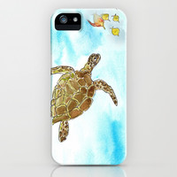 Turtle Reef iPhone & iPod Case by Catherine Holcombe | Society6