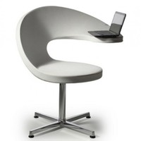 Netbook Lounge Armchair Of @ Shape | DigsDigs