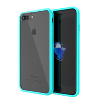 iPhone 7 Case Punkcase® LUCID 2.0 Teal Series w/ PUNK SHIELD Screen Protector   Ultra Fit