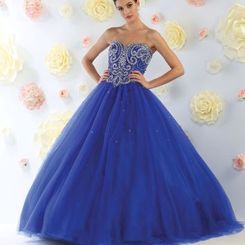 Quinceanera Long Dress Sweet 16 Ball Gown