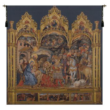 Adorazione Tapestry Wall Art Hanging