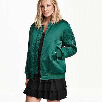 H&M Padded Pilot Jacket $69.99