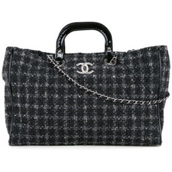 Chanel Vintage CHANEL Quilted 2way Hand Tote Bag - Farfetch
