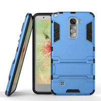 Bracket armor case For LG G4 G5 V10 K7 K10 HTC A9 X9 M10 Moto G iphone 6 6s Neo Hybrid slim Armor Silicone+TPU Back Covers Cases