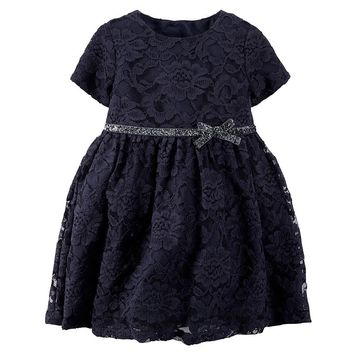 Carter's Lace Dress - Baby Girl, Size: