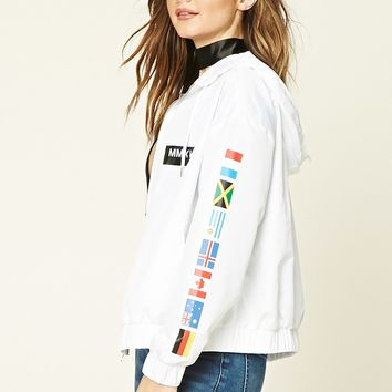 Worldwide Graphic Windbreaker