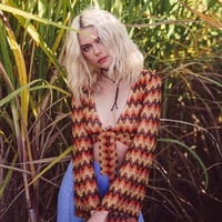 Montana Wrap Top in Jaffa