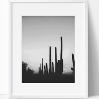 In the West Wall Art Photography, Black and White Modern Art, Prints