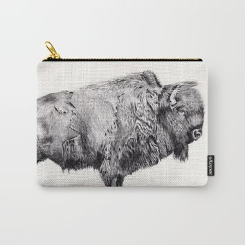 Buffalo Carry-All Pouch by Amber Stidham