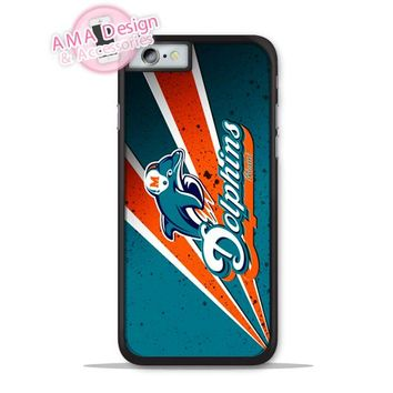 Miami Dolphins Football Club Phone Cover Case For Apple iPhone X 8 7 6 6s Plus 5 5s SE 5c 4 4s For iPod Touch