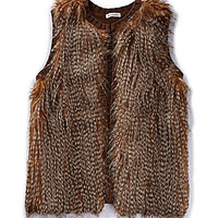 Love on a Hanger Faux-Fur Vest | Dillards.com