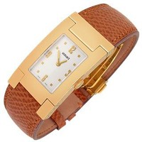 Versace Designer Men's Watches On Fifth - Men's Gold Plated Brown Leather Watch