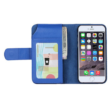 DoCases® Wallet leather case for iphone 6 plus