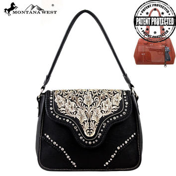 Montana West MW208G-918 Concealed Carry Handbag