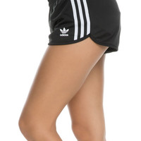 The Regular 3 Stripe Shorts in Black