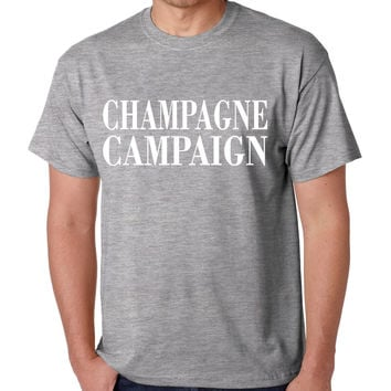 Champagne campaign Private Party Mens T-shirt