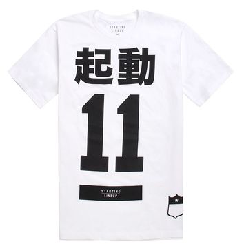 SLC Los Angeles Big In Japan T-Shirt - Mens Tee - White -