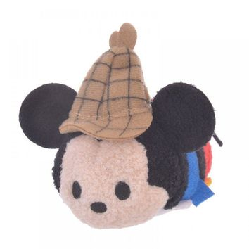 Disney Store Japan 90th 1937 Mickey Lonesome Ghosts Mini Tsum Plush New with Tag