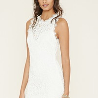 Textured Eyelash Lace Dress