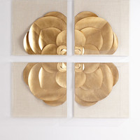 Tommy Mitchell Four-Piece Medallion Installation