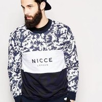 Nicce London | Nicce Panel Sweatshirt at ASOS