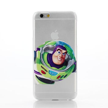 "buzz lightyear Toy Story Transparent Clear case for iPhone 6 (4.7"" ) you will love it"